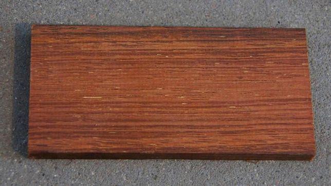 Zaawansowane TARAS do 30m2 _ Podkładki z drewna egzotycznego + gumowe pod UY83