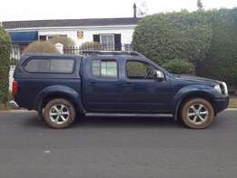 2008 NISSAN NAVARA 2.5 DCi LE 4X4 nice and strong bakkie