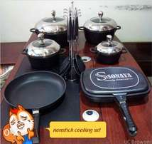 nonstick cooking dinner set