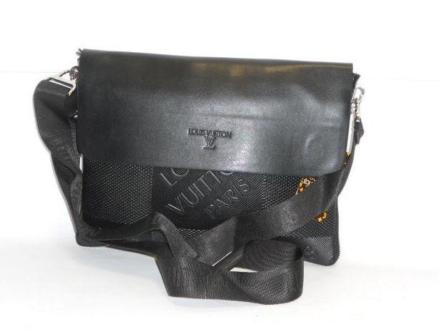 bf2ca18229c7b Louis Vuitton duża listonoszka torba na ramię czarna Logowana - Pułtusk -  Zapraszam do zakupu!