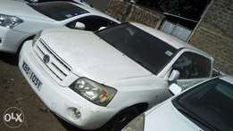 Toyota kluger for sale.