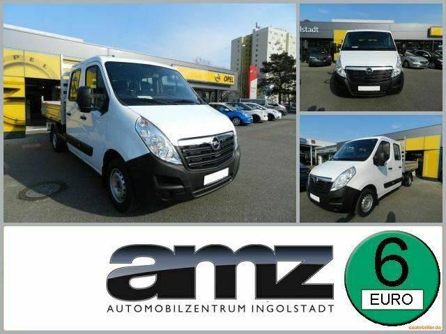 Opel Movano B L2H1 Kipper DoKa Klima Radio BT