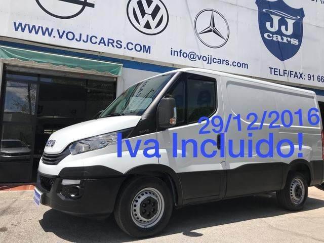 Iveco Daily Furgón 35s12 V 3000 H1 7.3 116 - 2017