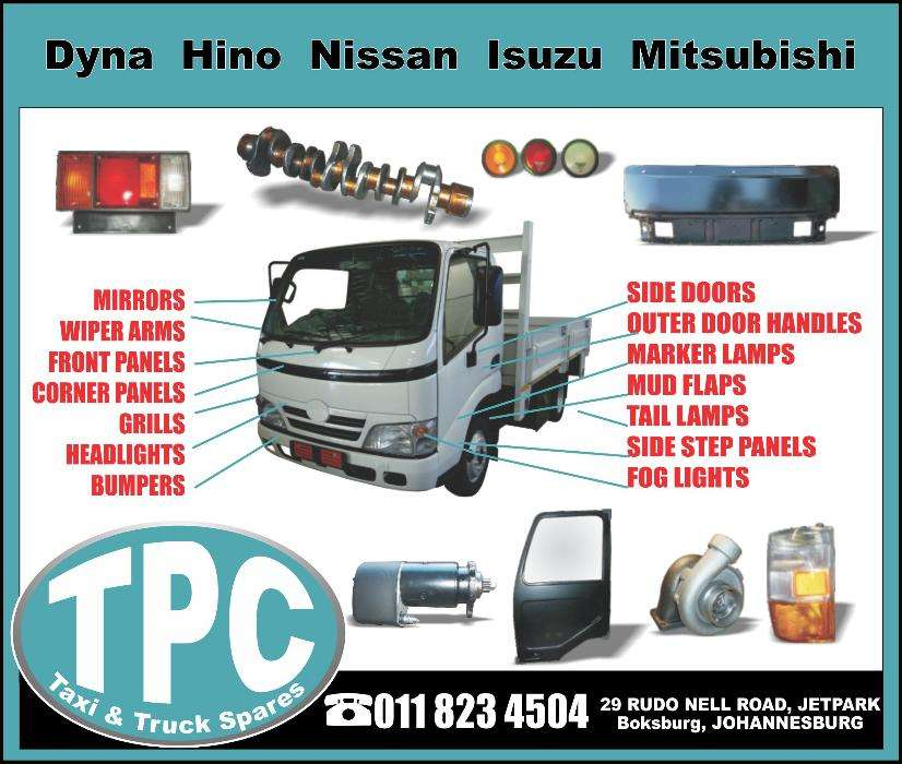 Truck Parts For Sale >> New Replacement Japanese Truck Parts For Sale At Tpc Car Parts