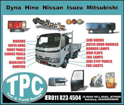 Truck Parts For Sale >> New Replacement Japanese Truck Parts For Sale At Tpc