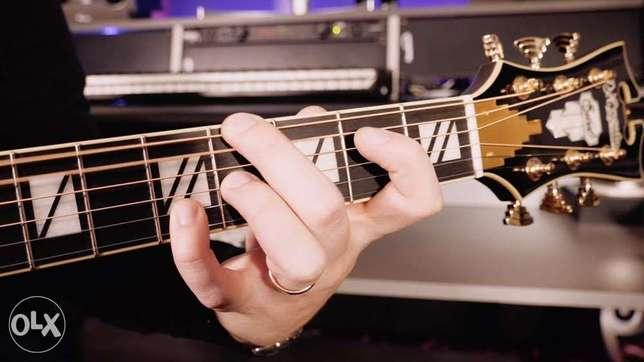 private lessons in guitar and piano