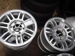 5xHummer mags 16 inch,6hole,139PCD, in good condition!!Bargain!!