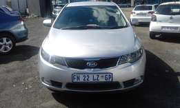 Kia Cerato 2.0 DSG Model 2013 5 Doors Colour Silver Factory A/C&MP3 Pl