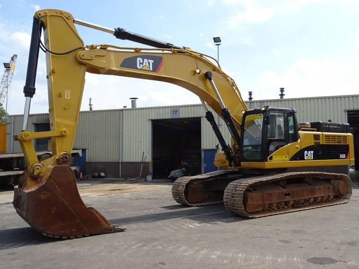 Caterpillar 345D Track Excavator 45T. Good Condition - 2010