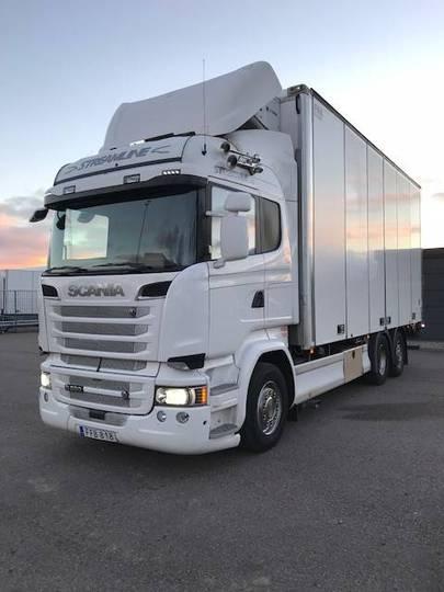 Scania R580 6x2 Inrikes Fna Kyl / Frysbil ( 105444 ) - 2015