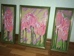 Картина Тюльпаны - Поделки   рукоделие - OLX.ua 1f90229b9cbfc