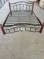Steel Bed with mattress for sale