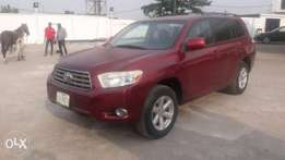 Registered Toyota Highlander - 2008