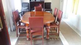 6 Seater Antique table.
