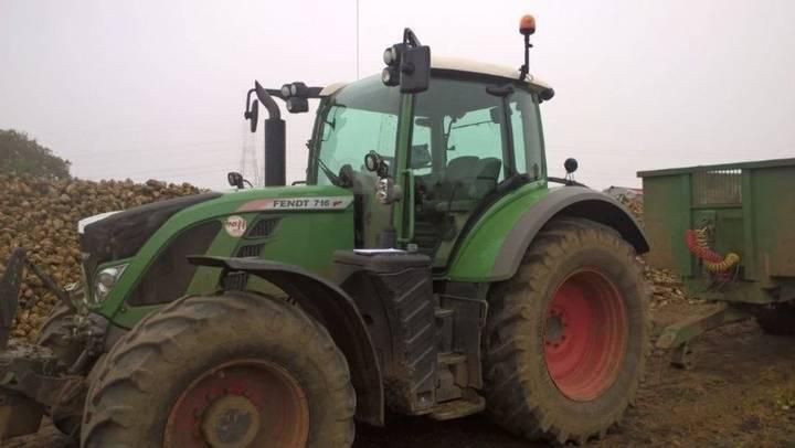 Fendt 716       fnd tractor - 2015 - image 5