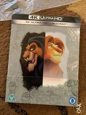 The lion King limited edition 4k steelbook