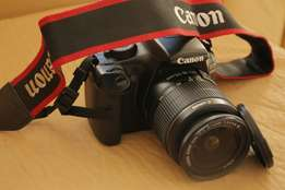 New canon EOS 1100d with 18-55mm