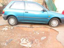 Clean Foreign used Toyota Starlet