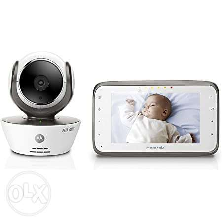 Motorola MBP854CONNECT Dual Mode Baby Monitor with 4.3