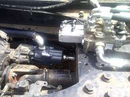 We do on-site hydraulic system installations and repairs