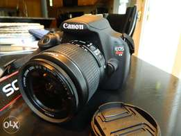 Canon 1200D/Rebel T5 with 18-55mm Lens( Extremely Clean UK Used)