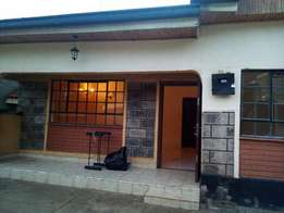 3 bedroom master en suit bungalow to let along old limuru road