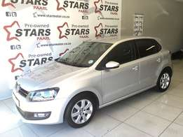2013 VW Polo 1.6 Comefortline Now Available!!