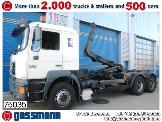 MAN t39 26.403 6x4 standheizung/klima/sitzhzg. - 1997