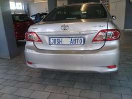 Pre owned 2012 Toyota corolla 1.3 Professional