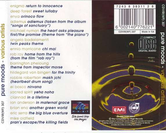 Pure Moods - Compilation (CD) Plumstead - image 2