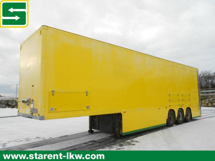 Adams gray &  doppelstocktrailer /doubledeck lift - 2008