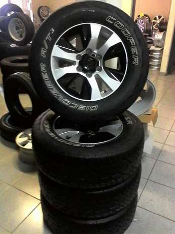 """17"""" toyota mags with discorvary cooper usd tyres Centurion - image 2"""