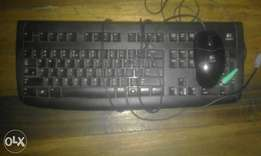 logitech mouse and keyboard