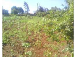 1/2 acre for sale in southern bypass kikuyu