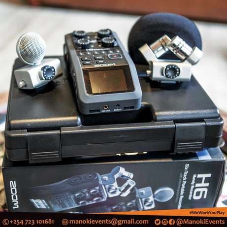 ZOOM H6 Handy Recorder for Hire Eastleigh - image 7
