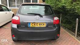New Toyota auris valvematic grey in colour kcn
