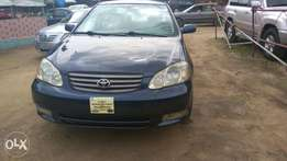 Very clean toyota corolla 2003 model available for sale