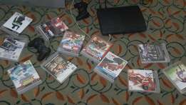 PS3,11 PS3 games, 2 controlors and 2 charges that are in good progres
