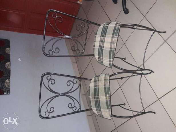 Wrought iron chairs Abuja - image 1