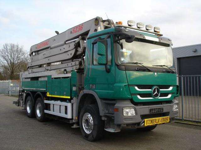 Mercedes-Benz Actros 6x4 3341 Concrete Pump Sermac 5z36 - 2012