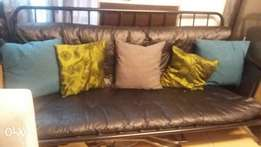 Black sleeper couch for sale