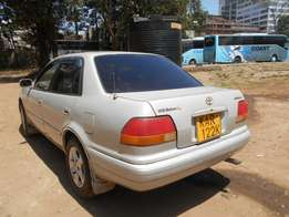 Asian owned Toyota AE 110, manual, 1500cc, EFI. In parklands