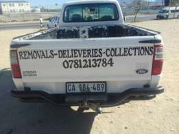 Bakkies / trucks available for hire