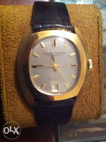 Authentic gold watch for men