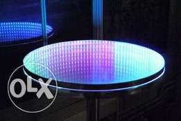 led coffe table