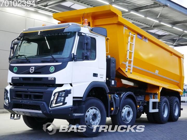 Volvo FMX 460 EU Registration 8X4 25m3 VEB+ Big-Axle Steelsuspe... - 2019