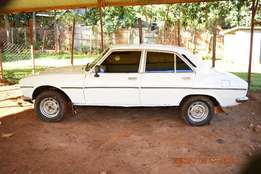A car in good condition on sale