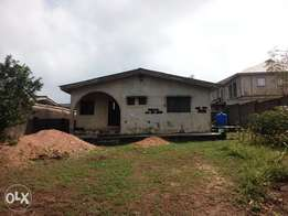Four BedRoom Flat on a plot of land