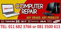 Laptop Repairs from as Little as R450