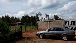 100 by 100 plot for sale in ndenderu banana road